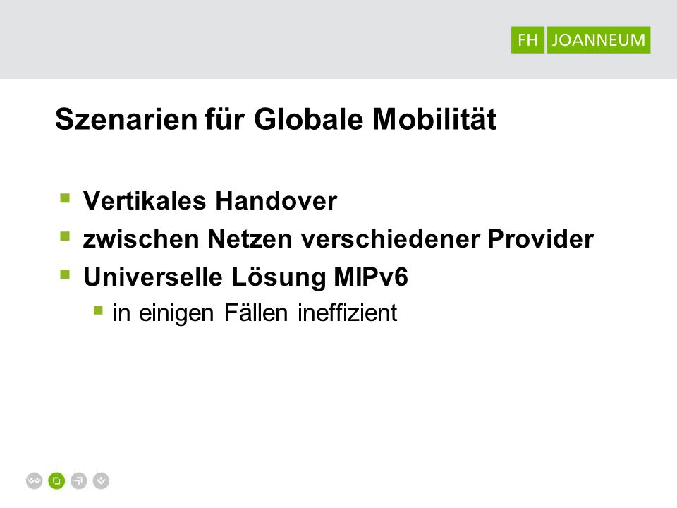 Szenarien für Globale Mobilität