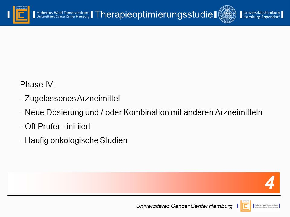 Therapieoptimierungsstudie