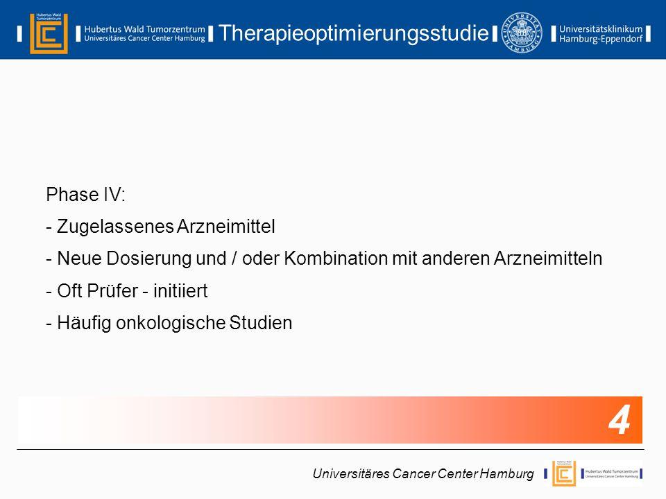 Therapieoptimierungsstudie