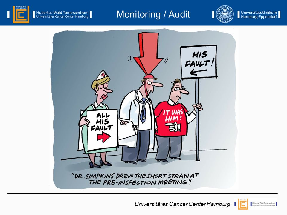 Monitoring / Audit Universitäres Cancer Center Hamburg