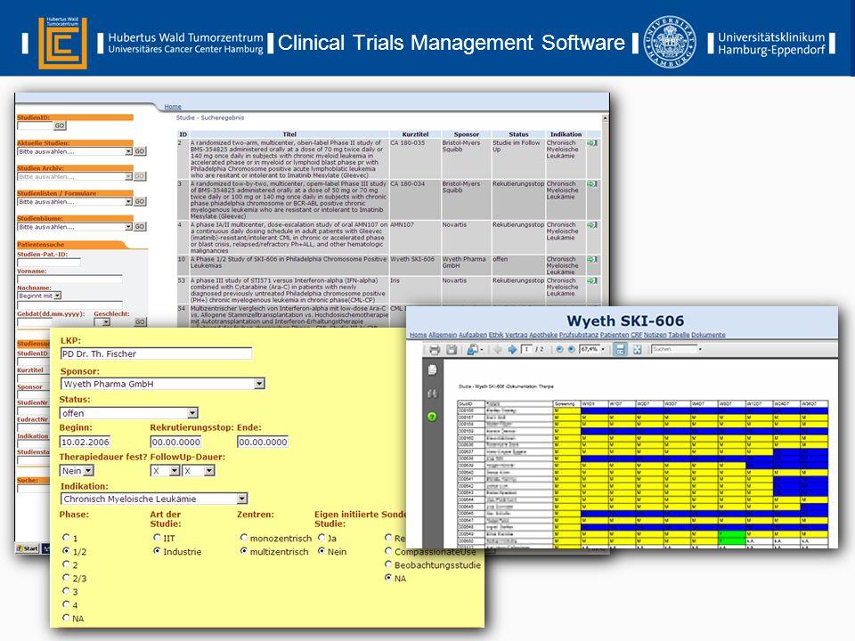 Clinical Trials Management Software