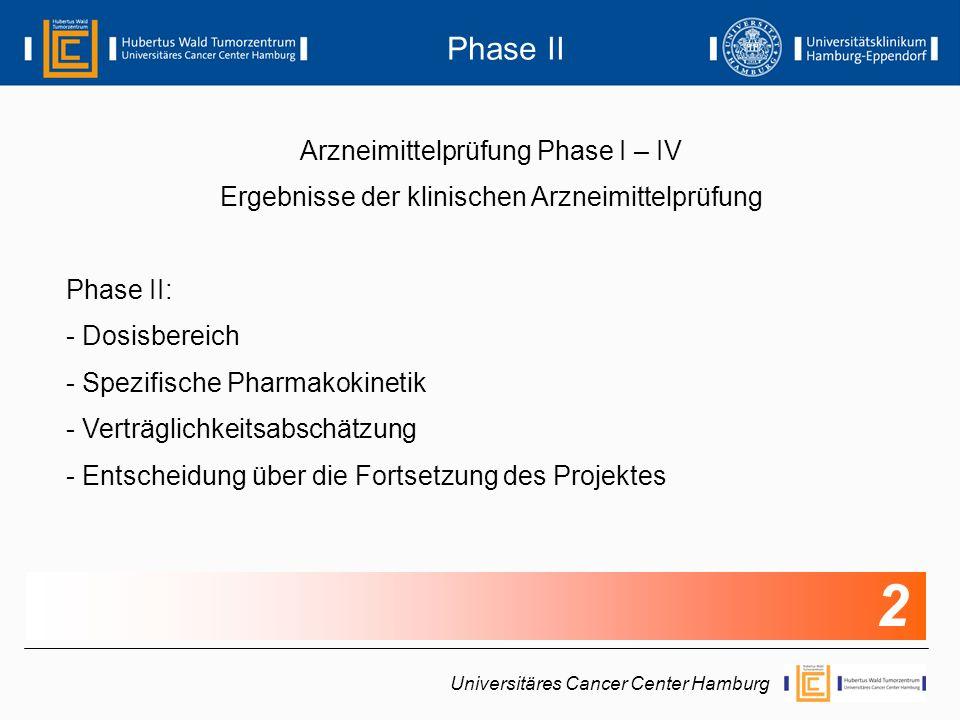 2 Phase II Arzneimittelprüfung Phase I – IV