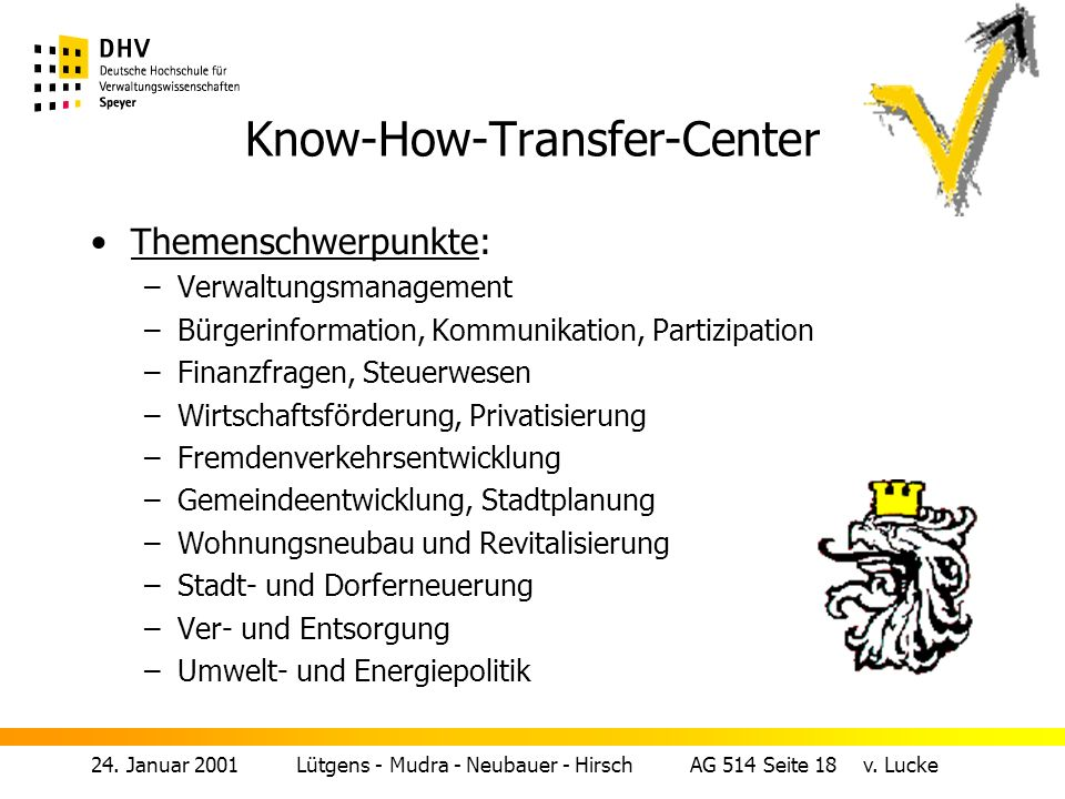 Know-How-Transfer-Center
