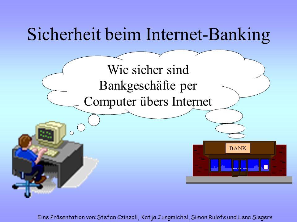 Sicherheit beim Internet-Banking