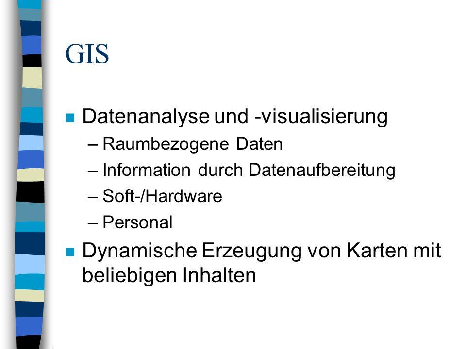 GIS Datenanalyse und -visualisierung