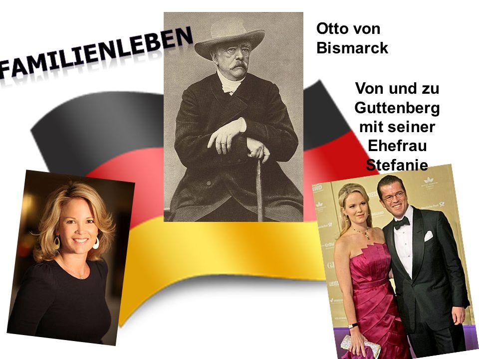 Von und zu Guttenberg mit seiner Ehefrau Stefanie