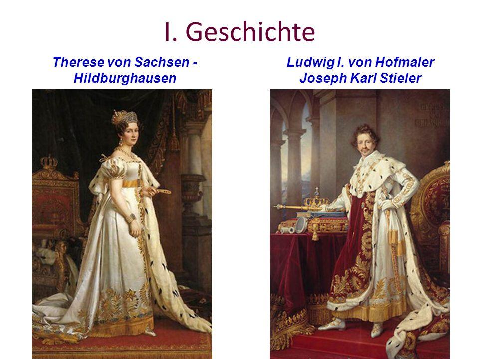 I. Geschichte Therese von Sachsen - Hildburghausen