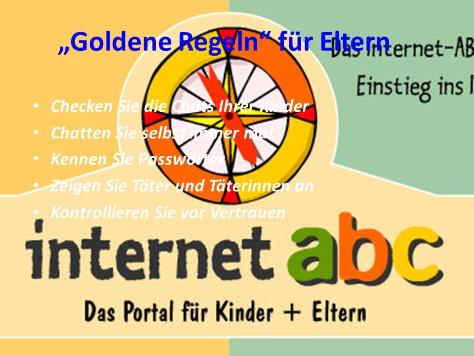 """""""Goldene Regeln für Eltern"""