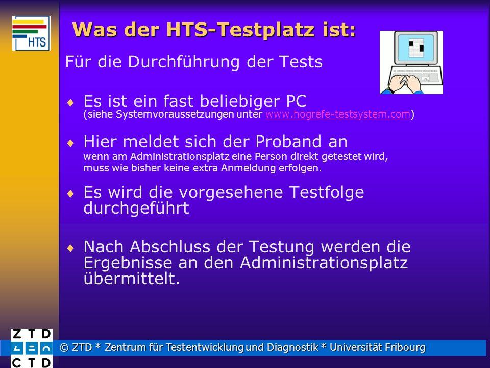 Was der HTS-Testplatz ist:
