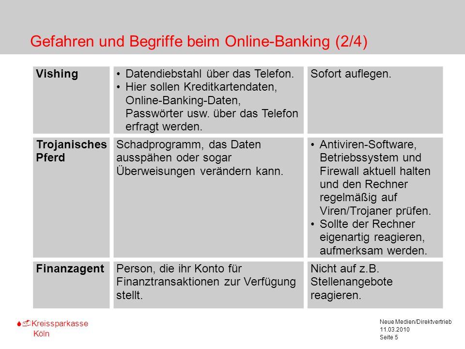 Gefahren und Begriffe beim Online-Banking (2/4)