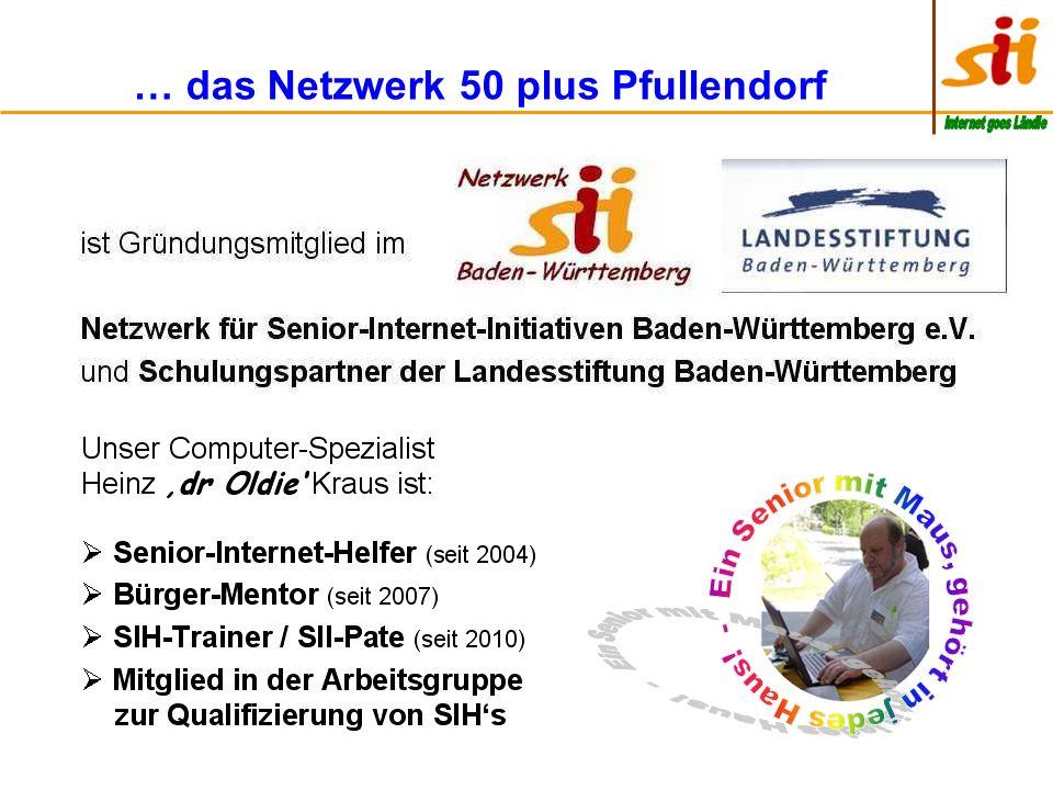 … das Netzwerk 50 plus Pfullendorf
