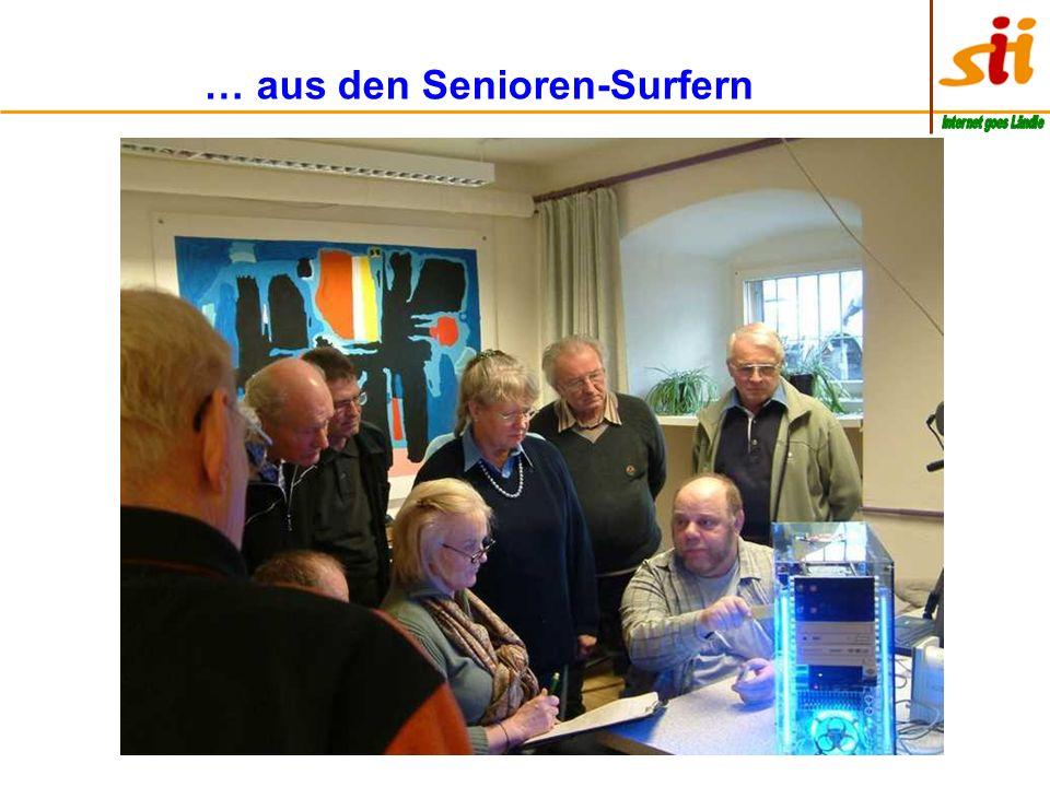 … aus den Senioren-Surfern