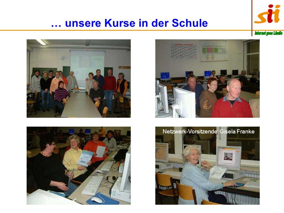 … unsere Kurse in der Schule