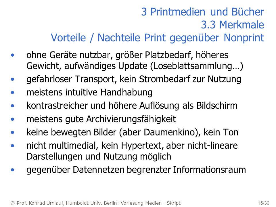 3 Printmedien und Bücher 3