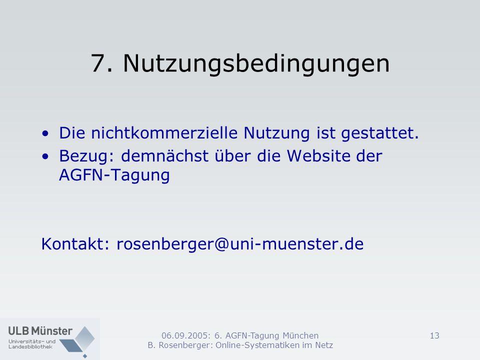 B. Rosenberger: Online-Systematiken im Netz