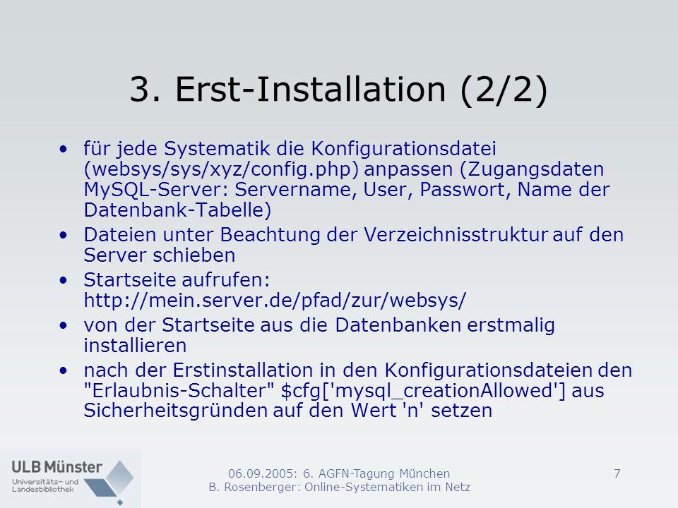 3. Erst-Installation (2/2)