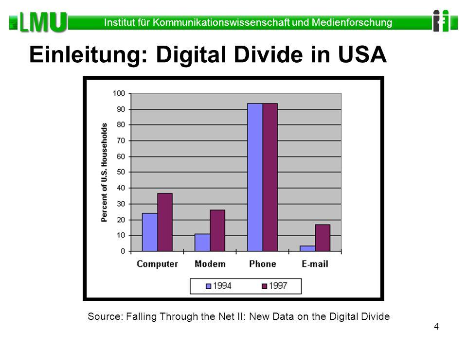 Einleitung: Digital Divide in USA
