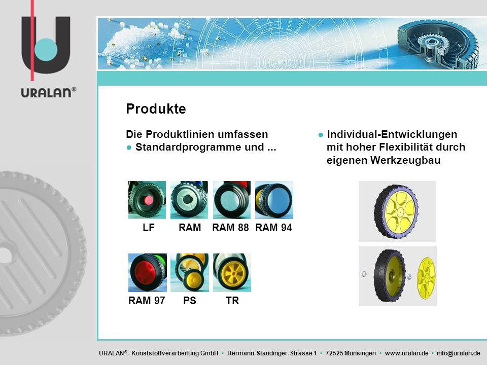 Produkte Die Produktlinien umfassen ● Standardprogramme und ...
