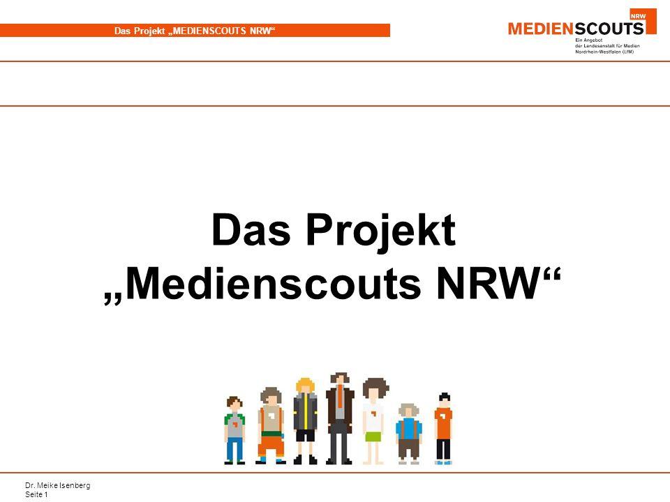 """Das Projekt """"Medienscouts NRW"""