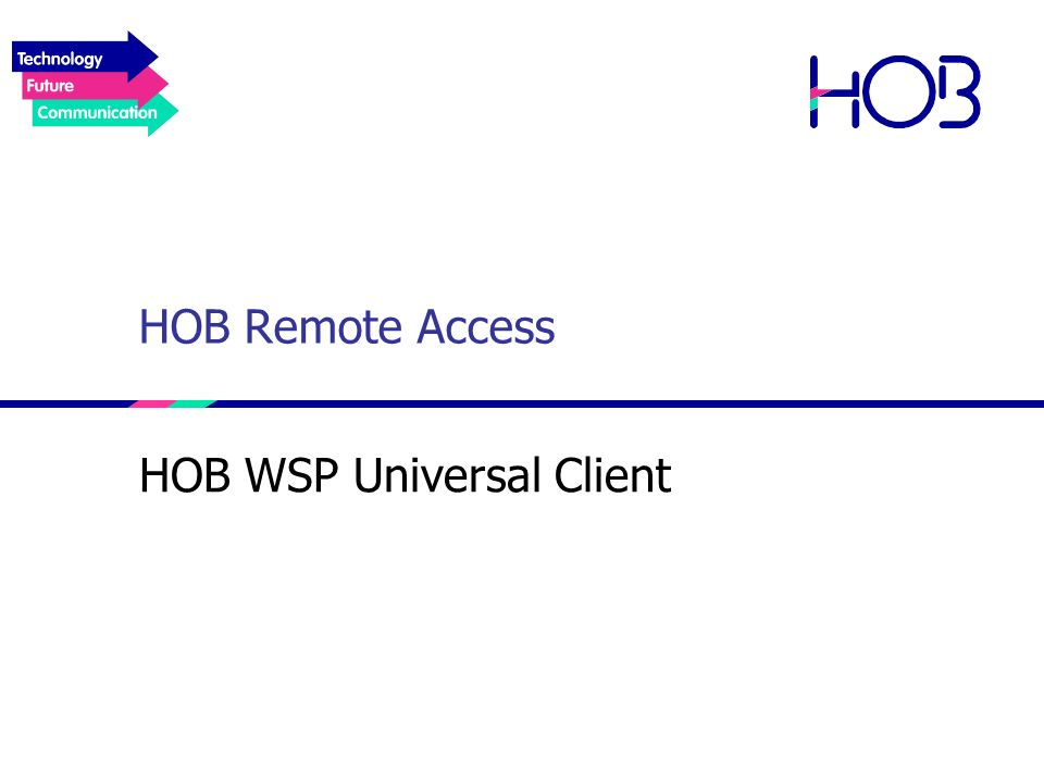 HOB WSP Universal Client