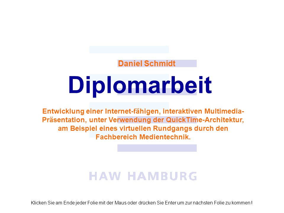 Diplomarbeit Daniel Schmidt