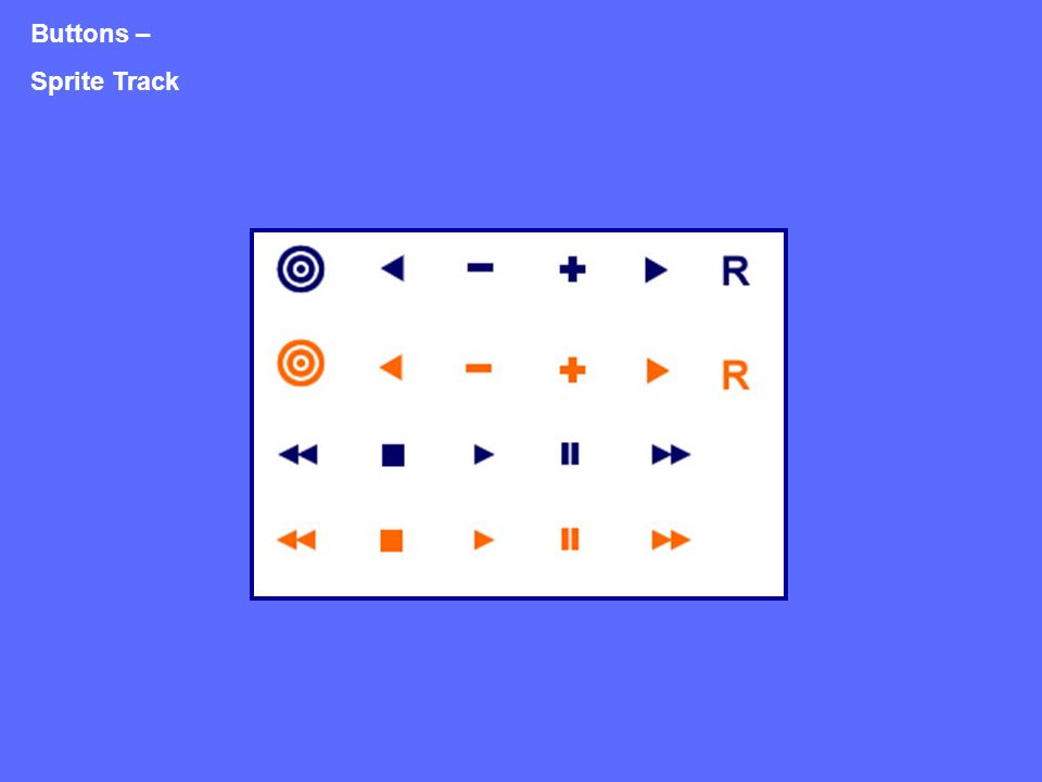 Buttons – Sprite Track