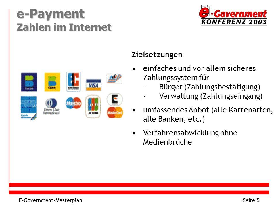 e-Payment Zahlen im Internet