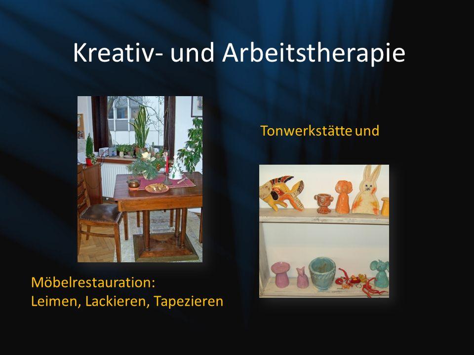 Kreativ- und Arbeitstherapie