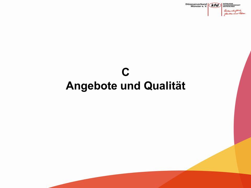 C Angebote und Qualität