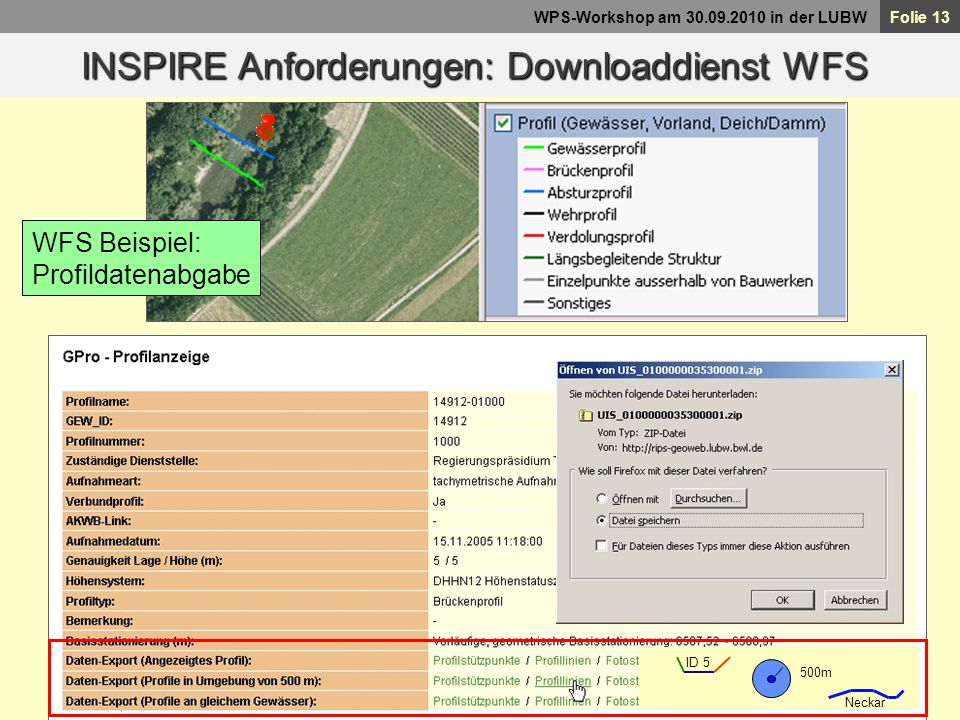 INSPIRE Anforderungen: Downloaddienst WFS