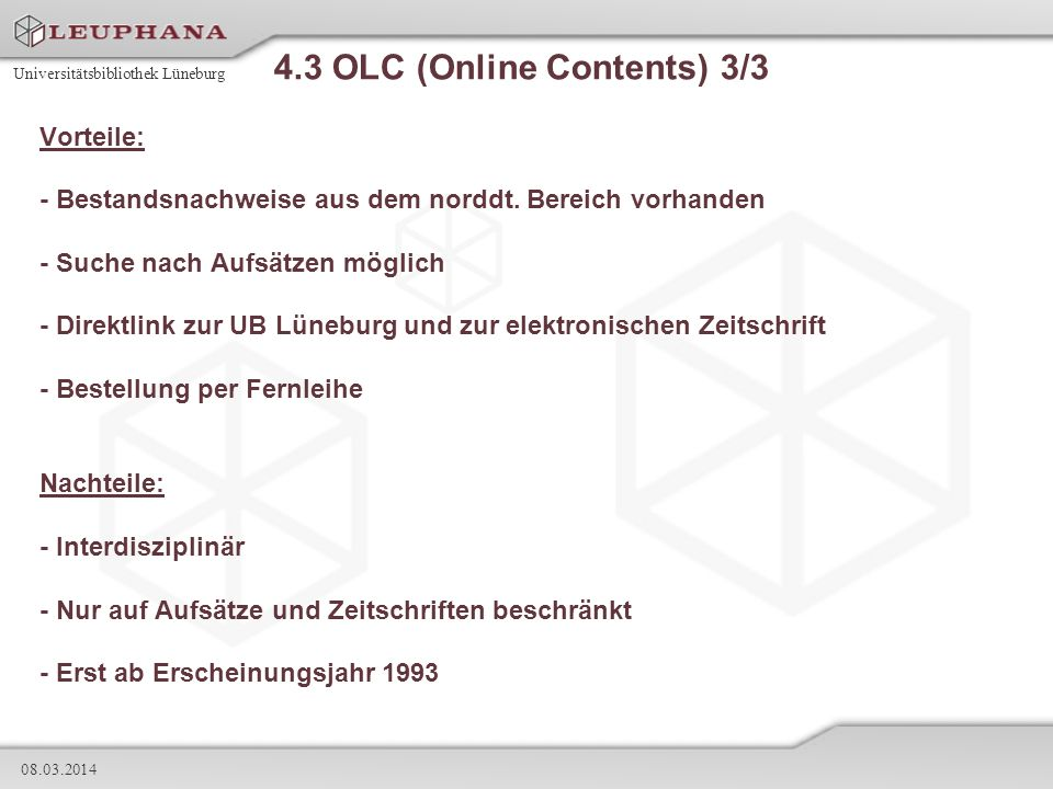 4.3 OLC (Online Contents) 3/3