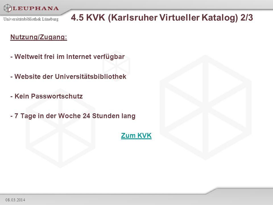 4.5 KVK (Karlsruher Virtueller Katalog) 2/3