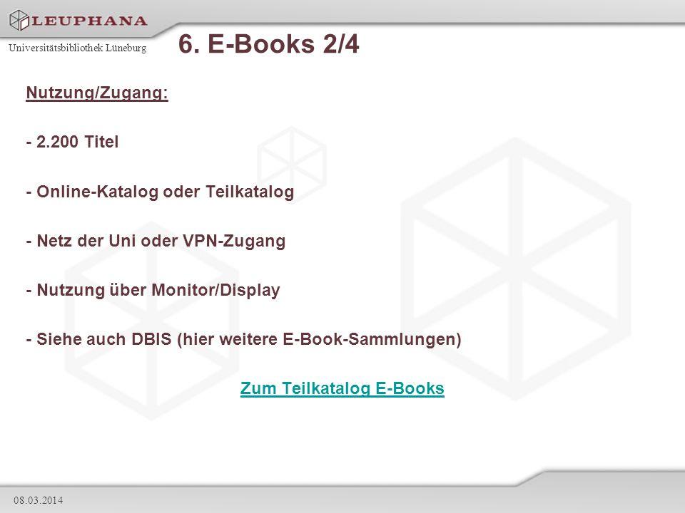 Zum Teilkatalog E-Books