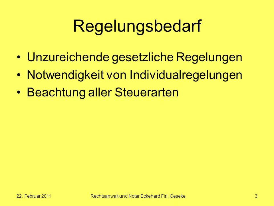 Rechtsanwalt und Notar Eckehard Firl, Geseke