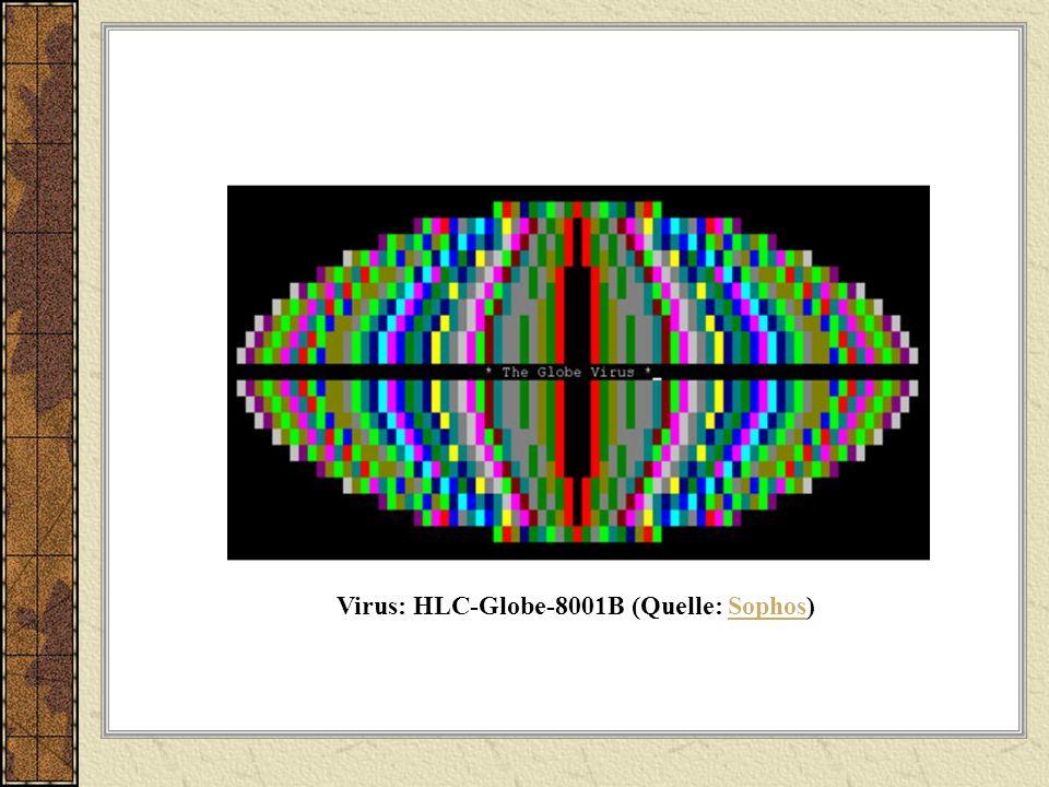 Virus: HLC-Globe-8001B (Quelle: Sophos)
