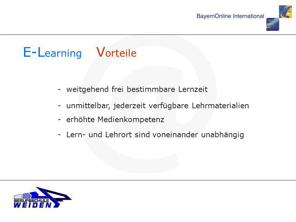 E-Learning Vorteile - weitgehend frei bestimmbare Lernzeit
