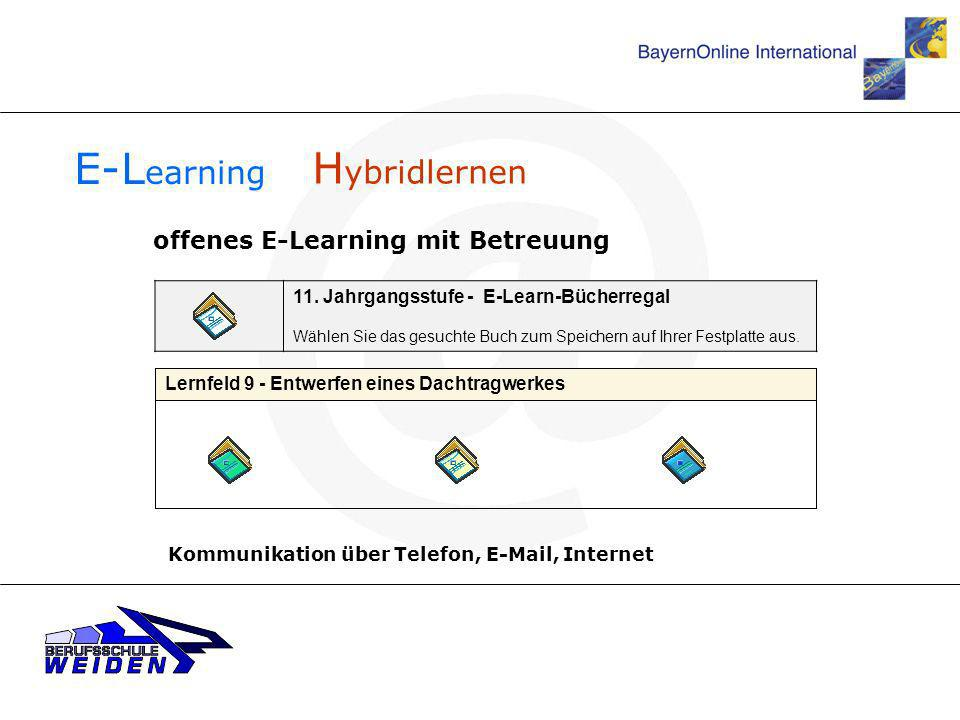 E-Learning Hybridlernen offenes E-Learning mit Betreuung