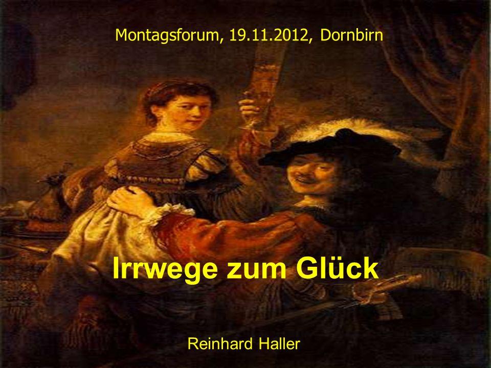 Montagsforum, 19.11.2012, Dornbirn