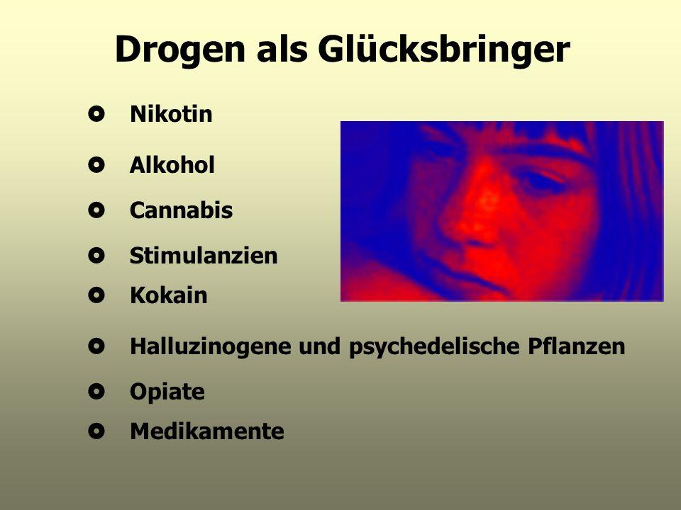 Drogen als Glücksbringer