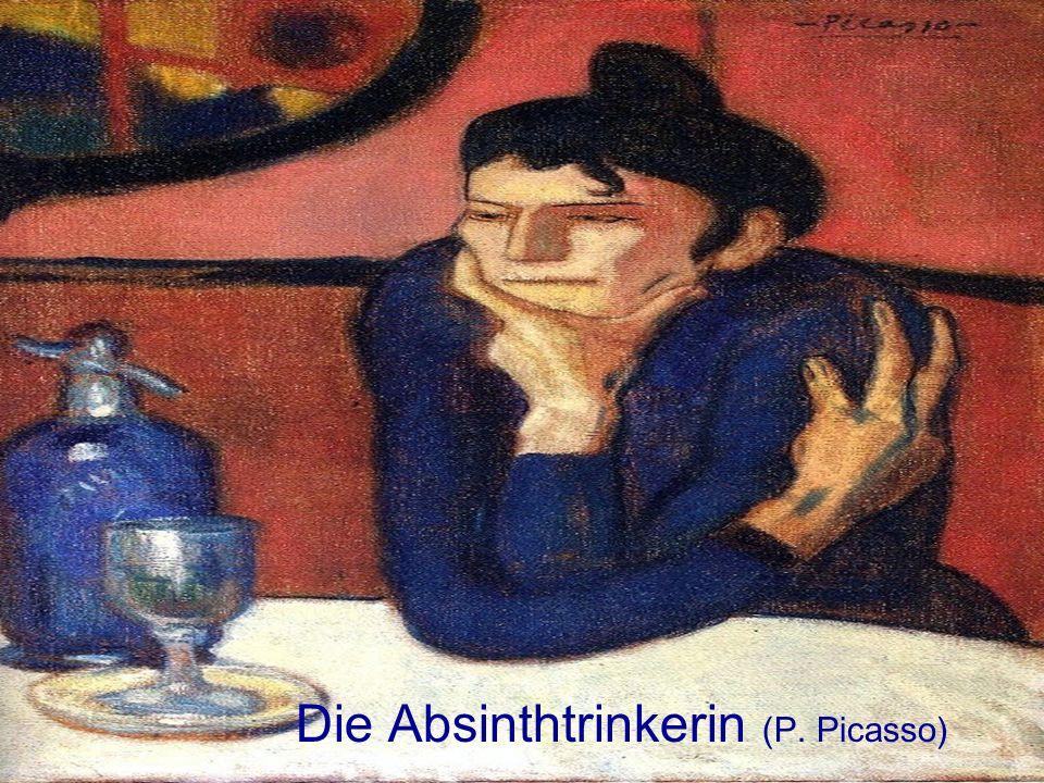 Die Absinthtrinkerin (P. Picasso)