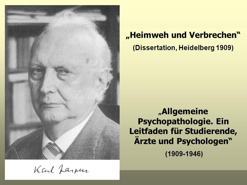 """""""Heimweh und Verbrechen (Dissertation, Heidelberg 1909)"""