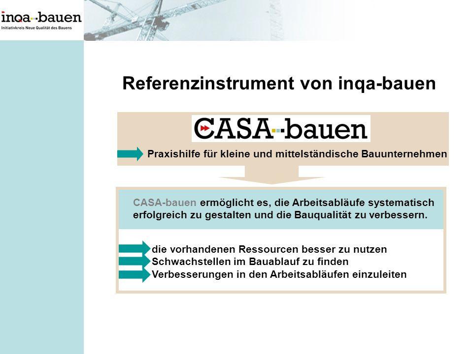 Referenzinstrument von inqa-bauen