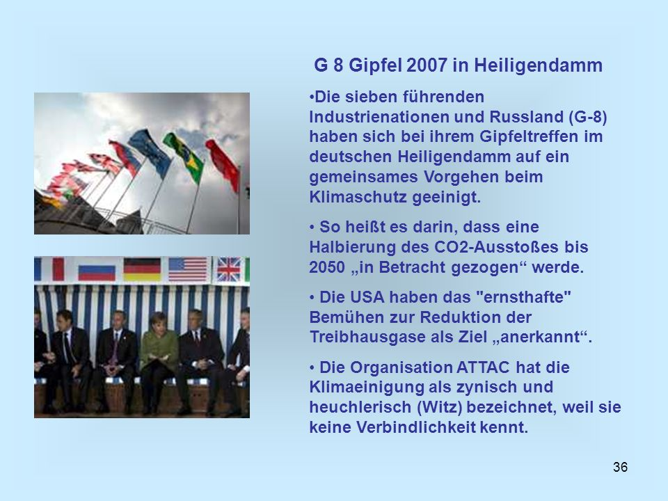 G 8 Gipfel 2007 in Heiligendamm