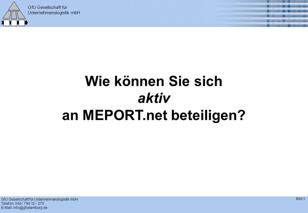an MEPORT.net beteiligen