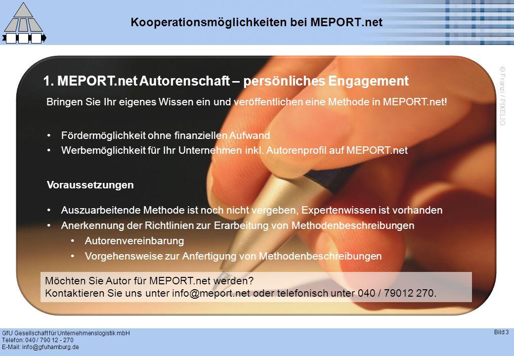 Kooperationsmöglichkeiten bei MEPORT.net