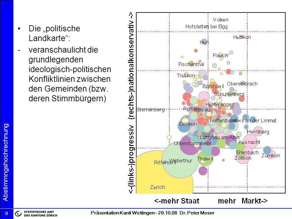 """Die """"politische Landkarte :"""