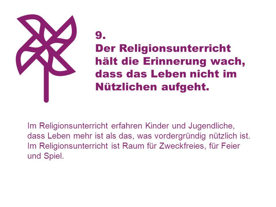 Der Religionsunterricht