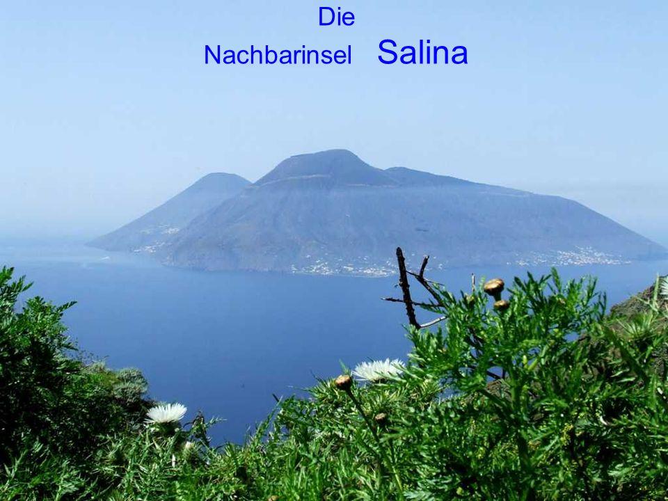 Die Nachbarinsel Salina