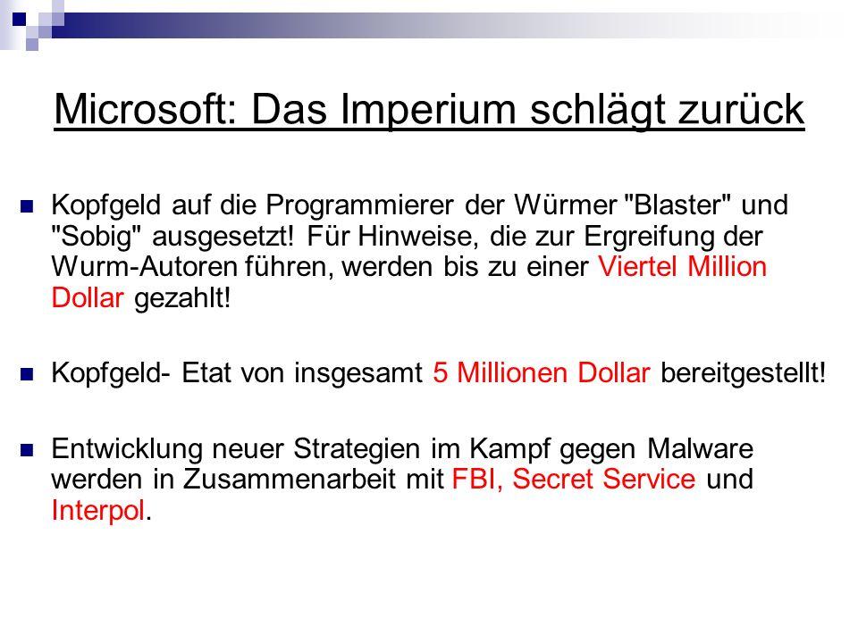 Microsoft: Das Imperium schlägt zurück