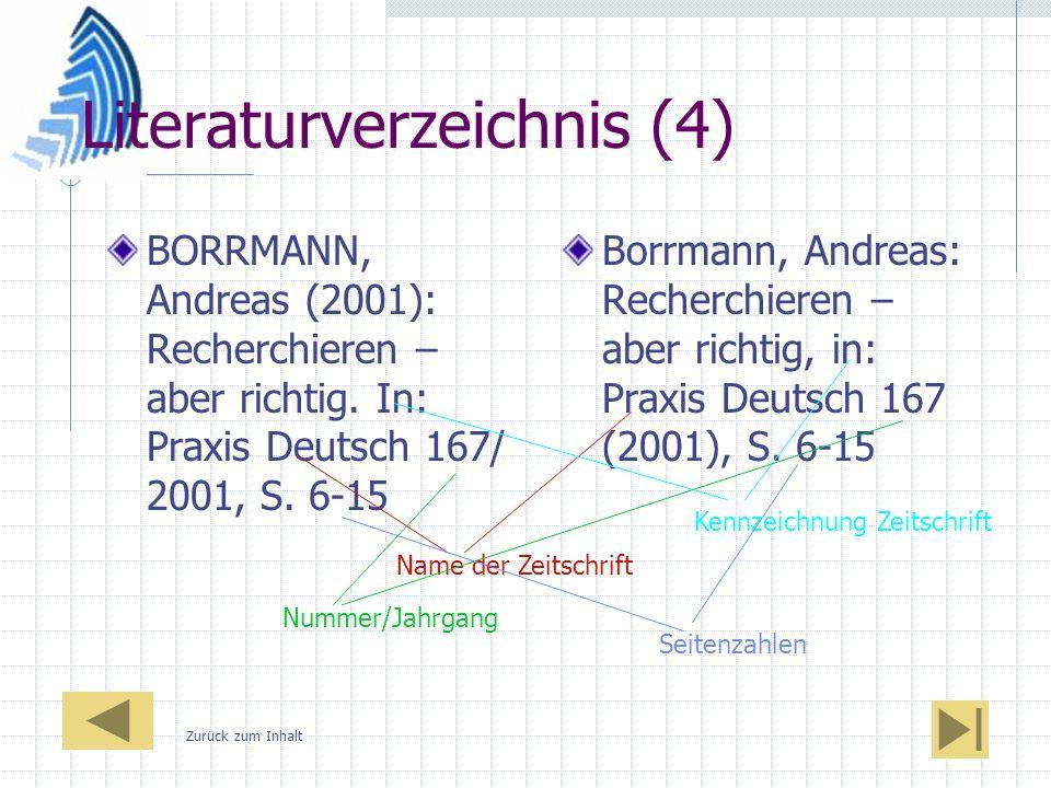 Literaturverzeichnis (4)